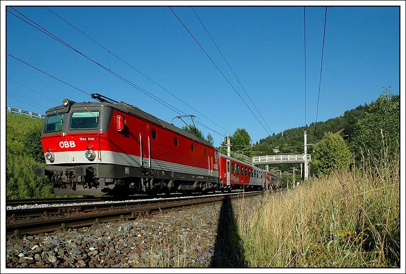 Rex 1512 Von Salzburg Nach Innsbruck Nächst Taxenbachrauris