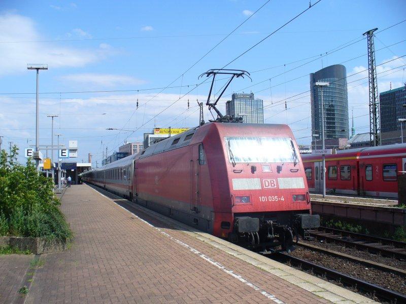 schublok des ic 2151 von d sseldorf nach berlin On berlin nach dortmund