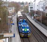 G 1700 BB kommt mit zwei Kessel und Containerwagen aus Wegberg-Wildenrath(D)  nach Aachen-Nord-Talbot(D)  und kommt aus Richtung Rheydt,Wickrath,Beckrath,Herrath,Erkelenz,Baal,Hückelhoven-Baal,Brachelen,,Lindern,Süggerath,Geilenkirchen,Frel ...