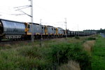 Walkers/ASEA JAE29-3B 3900 Class locomotives in the middle of a mile long coal transport.