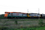 Walkers/ASEA JAE29-3B 3900 Class locomotives in fromt of a mile long coal transport.