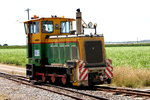 Diesel locomotive used for cane transport in Mackay area 26-10-2005.