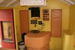 Inside of old mailcar in Clermont museum 04.11.2005