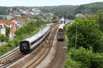 MFB5269 entering Vejle from Aarhus with MG5831 at the station 02-06-2012