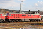 232 209-7 DB Cargo in Lichtenfels am 14.04.2016.