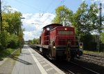 DB Cargo 294 586-3 am 28.04.16 in Maintal Ost