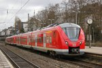 1440 807-4 als S8 in Wuppertal Barmen, am 29.03.2016.
