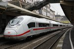 ICE Velaro D als ICE515 in Wuppertal Hbf, am 26.04.2016.