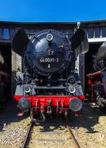 44 0093 im DB Museum Halle(S) am 24.8.19. Sommerfest DB Museum Halle(S).