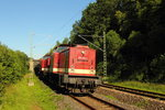204 425-3 und 204 271-1 Press in Michelau/ Oberfranken am 23.06.2016.