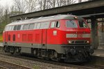 218 409-1 in Wuppertal Barmen, am 14.04.2016.