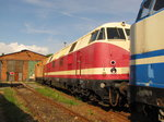 Rennsteigbahn 228 714-2 am 18.07.2015 in Ilmenau.