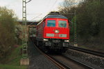 233 662-6 DB Cargo in Michelau/ Oberfranken am 15.04.2016.