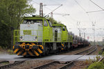 Captrain 401 (275 902-1) mit 404 (275 905-4) in Gelsenkirchen-Bismarck 26.4.2016