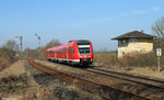612 653 am 18.03.2016 in Hiltersdorf.