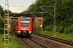 612 615 DB Regio bei Michelau in Oberfranken am 13.06.2016.
