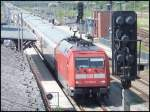 101 056-0 als IC in Bergen am 19.06.2013