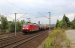 145 065-9 mit EZ 51723 am 18.09.16 in Orlamünde.