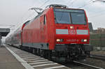 146 007- 0 (RE70) am 11.02.2017 in Gernsheim.