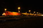 152 129-3 DB Cargo in Pressig/ Rothenkirchen am 27.12.2016.