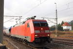 152 116-0 DB Cargo in Pressig/ Rothenkirchen am 24.11.2016.