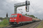 DB BR 185 342-3 @ Darmstadt - Eberstadt am 20 August 2016