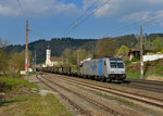 185 673 mit DGS 47161 am 12.04.2016 in Wernstein am Inn.