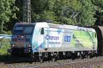 DB 185 152  K+S  am 8.9.12 in Ratingen-Lintorf.