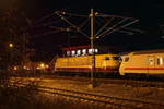 103 245-7 DB in Lichtenfels am 26.11.2016.