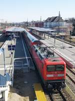 112 185 in Neubrandenburg am 23.03.2020