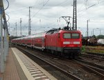 DB Regio 114 037 mit RE nach Fulda am 22.08.16 in Hanau Hbf