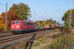 Railpool 151 169-0 am 10.11.2019 in Gütersloh