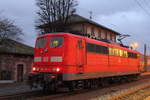 151 126-0 DB Cargo in Pressig/ Rothenkirchen am 26.12.2016.