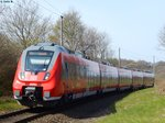 BR 442 - Talent 2 in Sassnitz am 29.04.2016