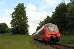 442 104 DB Regio in Schney am 17.06.2016.