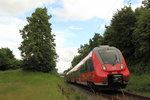 442 105 DB Regio in Schney am 18.06.2016.