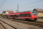 442 649 als RE 18408 (Dresden Hbf–Cottbus) am 13.08.2015 in Priestewitz