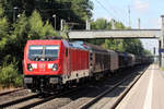 DB 187 081 in Tostedt 12.7.2018