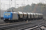 185 523-8 in Duisburg-Entenfang 9.11.2016