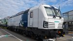 193 844 Vectron Innotrans Berlin 2016 am Tag davor
