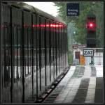 Am Signal -    Abfahrt am S-Bahnhof Baumschulenweg.