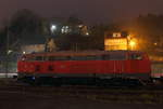 218 249-7 DB in Kronach am 17.12.2016.