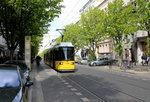 Berlin BVG SL 12 (AEG GT6-94 1001) Prenzlauer Berg, Kastanienallee (Hst.