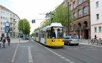 Berlin BVG SL M1 (AEG GT6N-U 1544) Prenzlauer Berg, Kastanienallee / Schwedter Straße am 24.