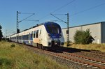 RE7 Zug nach Rheine in Allerheilgen......24.8.2016