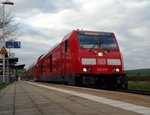 DB Regio Hessen 245 019 Downside in Glauburg-Stockheim am 06.04.16