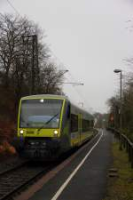 VT 650.714 Agilis in Schney am 13.12.2013.
