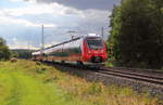 442 776 DB Regio bei Bad Staffelstein am 15.09.2016.