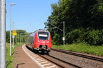 442 272 DB Regio in Michelau/ Oberfranken am 20.07.2016