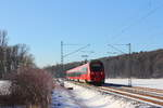 442 803 DB Regio in Oberlangenstadt am 06.01.2017.